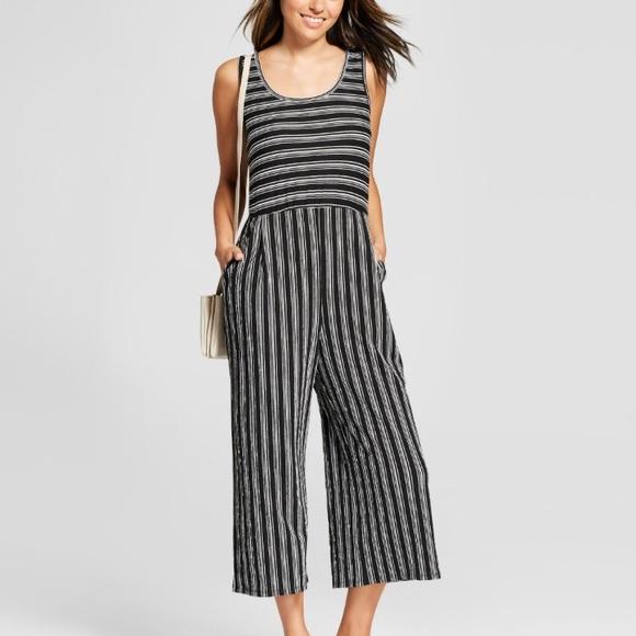 b1bf34711e4f Xhilaration Pants - Xhilaration Striped Jumpsuit - Size Small